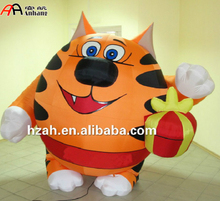Inflatable Smile Tiger Balloon for Festival Decoration