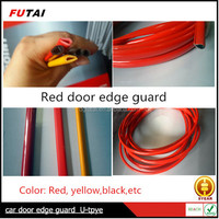 Strong adhesive red decorative edge trim