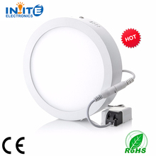 2017 best seller 6w round led panel light, led down light 6w, round and square