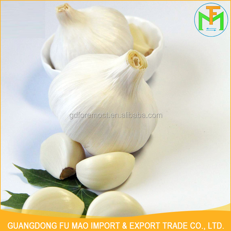 New Crop Natural Shandong Farmer 5.0Cm 5.5Cm 6.0Cm Specifications Pure White Garlic