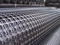 china manufacturer polypropylene tensar biaxial geogrid price for gravel grid