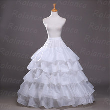 CC001 hot sale layers long puffy wedding dress petticoat