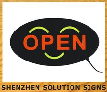 Neon Open Display Flashing Sign Shop Business Signs Shopping Centre Office Cafe
