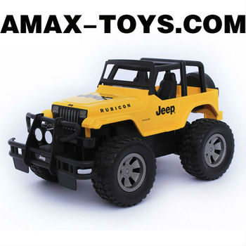 rj-5733152 scale rc jeep 4CH Emulational Remote Control Off-road Jeep with Shock Absorbers and Bumper