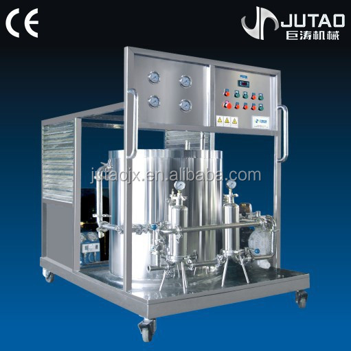 Stainless steel perfume freezing machine