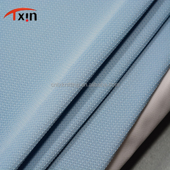 High quality 100% polyester knitted fabric for handbag, tear resistant shoes fabric