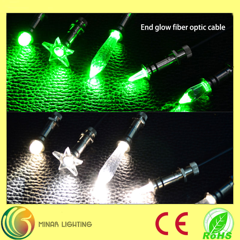 Guangzhou waterproof sauna fiber optic light for wholesale