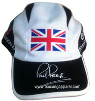 men's British flag embroidery f1 racing baseball cap and hat