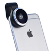 Universal clip 235 degree Super Fisheye lens for iPhone Samsung Windows Android smartphone camera lens case
