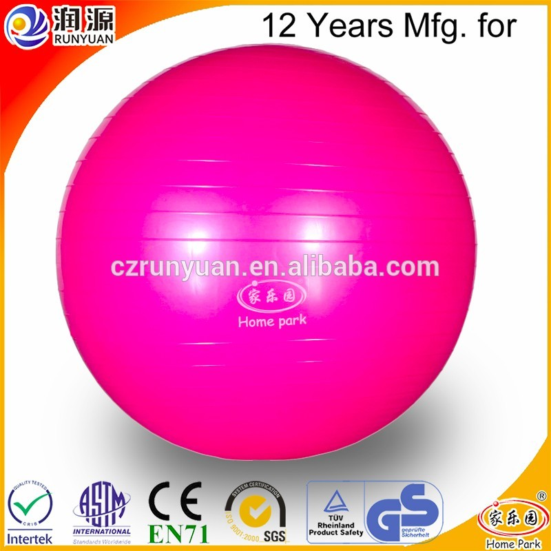 Brand new yoga ball pvc free wholesale with low price