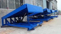 high capacity dock lifts used for forklift