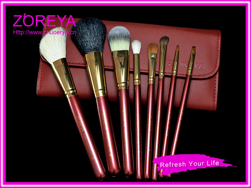 Forever classic italy cosmetic professional mineral make up brushes