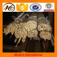 China manufactured free cutting brass rod/brass bar