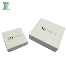 classical custom packaging boxes white luxury jewelry gift box set