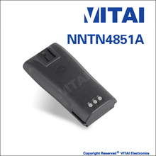VITAI NNTN4851A 7.2V 1800mAh NI-MH Two-Way Radio Rechargeable Battery For CP040 CP150 EP450