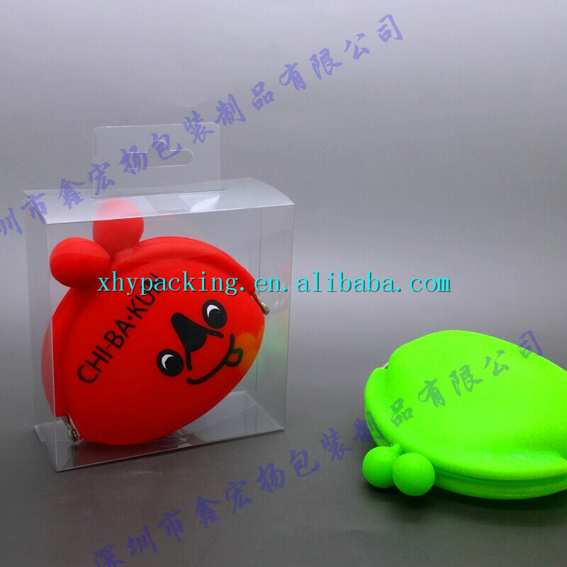 Customize plastic box packging for coin bag in box alibaba china