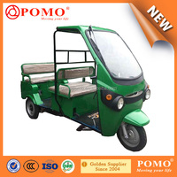 Pass 12000kms Road Test Electric Commercial Tricycle For Passengers