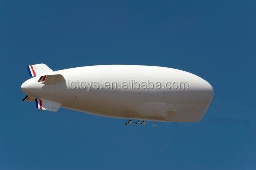 Outdoor inflatable RC airship for advertising and promotion