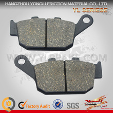 Durable 86.2*40*9 mm Brake Pad With Certification