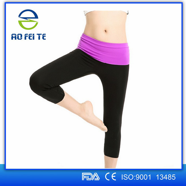 Hebei factory aofeite womens hot body shaper breathable yoga pants sex