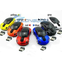 Factory Price Computer Mouse Car Shaped USB 2.4G 1600dpi 3D Wireless Mice