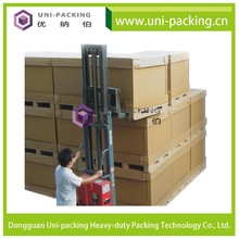 Customized corrugated carton packaging paper box, Tri-wall Corrugated Box for moving