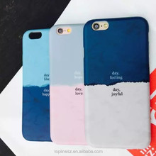2016 newly Fashion Assorted Colors Hard PC Frosted Simple Mobile Phone Cover Case for iPhone6s 6splus