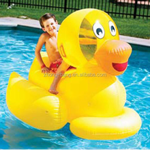 Large Duck Inflatable Ride On Giant duck toy on water