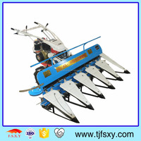 Hot Sell Gear Drive Rice Wheat Cutter Mini Harvesting Machine Price