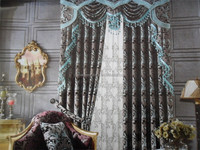 Latest window curtain designs crochet string curtains for kitchen