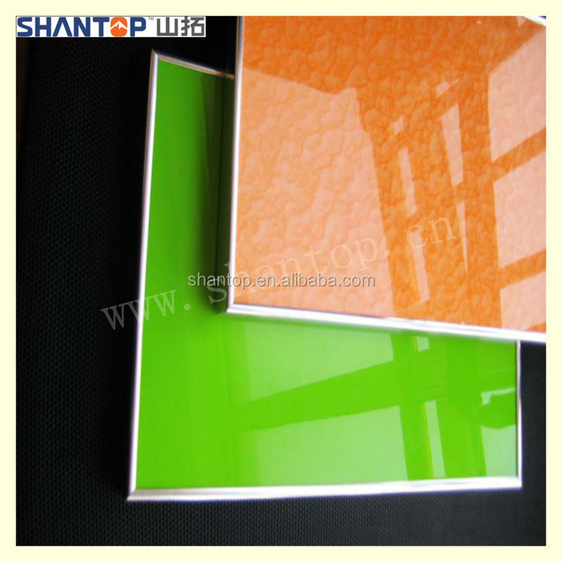 Low price UV paint MDF board interior wood wall panels