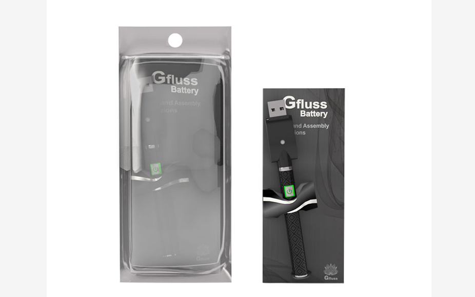 Greentime Gfluss Fast Charge Vape Cartridge 510 cbd Battery