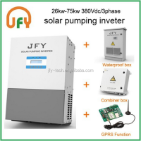22KW JFY 2015 Solar Water Pump Inverter, AC Grid Powe option-- Can Pumping Water at night