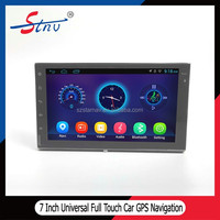 2 din full touch audio 7 inch Car Universal Gps Navigation Android audio player