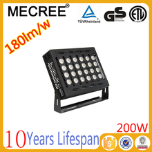 200w waterproof high intensity ip67 brightest outdoor led flood lights for led football pitch lighting