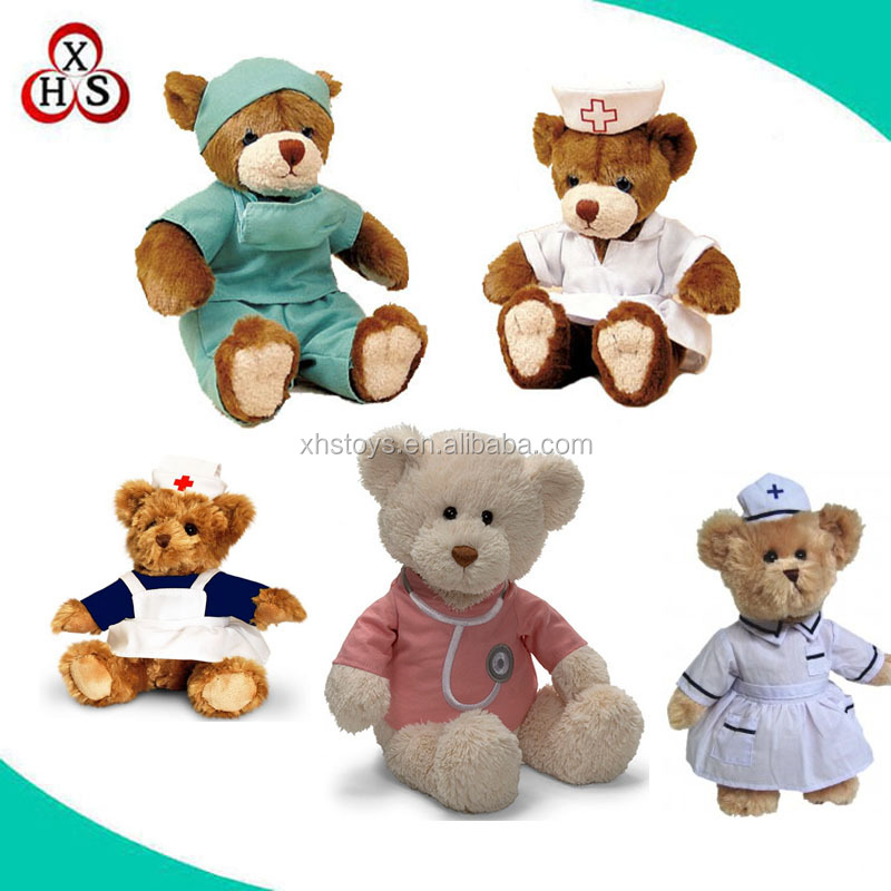 factory wholesale teddy bear toys plush toys for crane machines customized plush stuffed toys