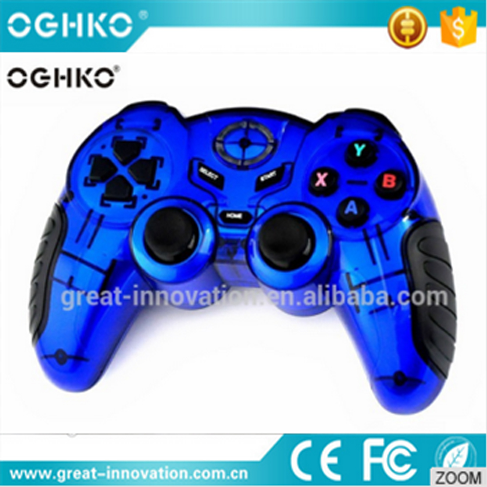 Best Selling Wireless 2.4G PC Game Controller Gamepad