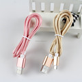 New 3ft/6ft/10ft Aluminum Braided Micro USB Cable For iPhone for Android Charger Data Sync Wire USB cable