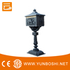 High quality free standing cast aluminum letter box