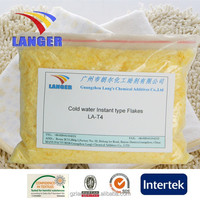 Cold water Instant type Cationic softener Flakes
