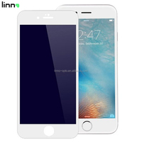Mobile phone 3d carbon fiber full cover anti blue light protective film screen protector for iphone 6