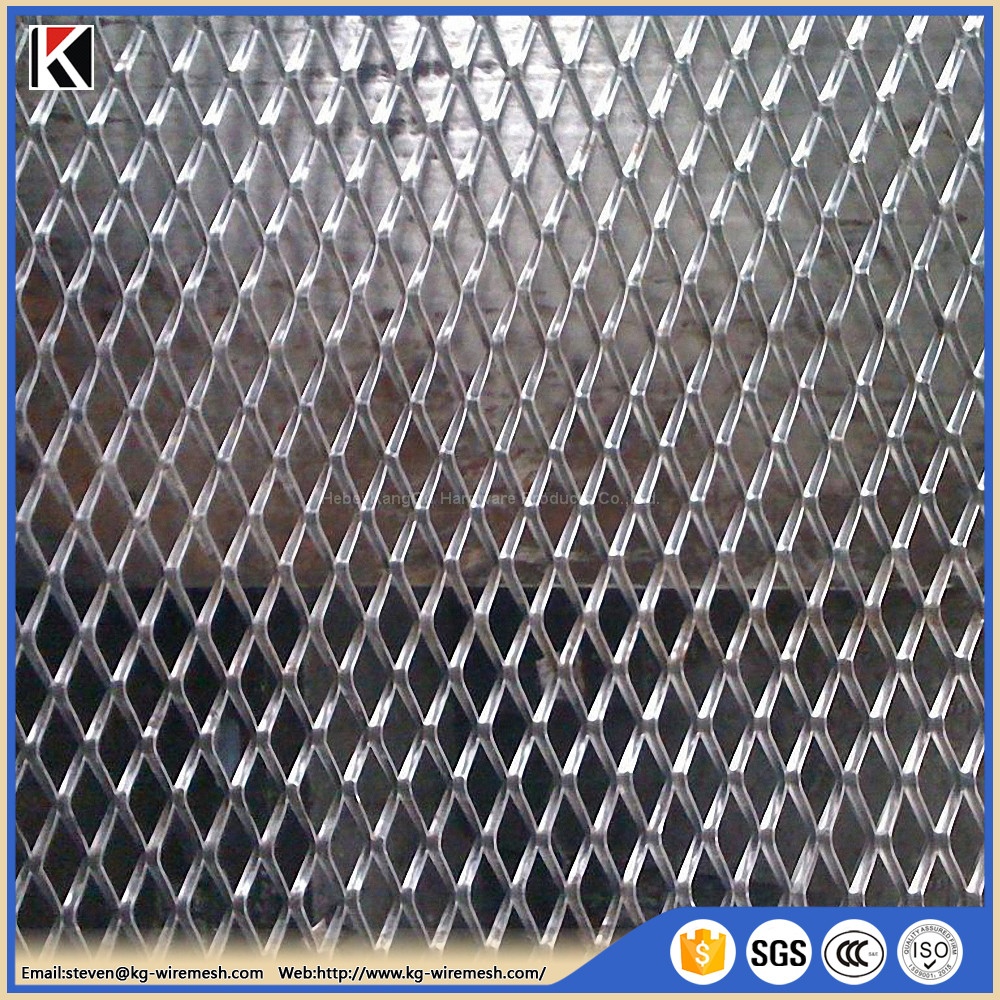 stainless steel expanded metal wire mesh/diamond hole expanded metal mesh price Malaysia