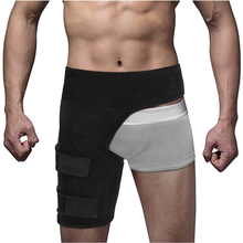 Neoprene Adjustable Groin Strain Pain Support for Hip Injury