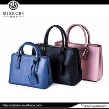 Wishche High Quality Best Selling Lady Leather Bag Handbag No MOQ Fashion Bags Korea Fashion Handbags Wholesale Factory W0018