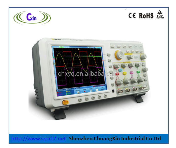 4 Channel PC based 200mhz digital Storage Oscilloscope