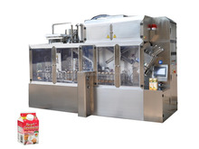 Aseptic Carton Filling Machine For Milk or Juice
