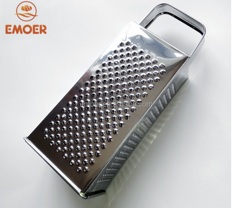 EMOER 4 sides Stainless Steel Carrot Grater
