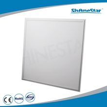 Popular 45W hospital/office/supermarket light anodized white color available high purity aluminium led ceiling panel light
