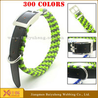 wholesale custom leather large dog collars reflective