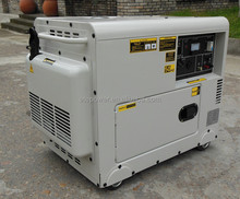 5KW old type small portable soundproof diesel generators